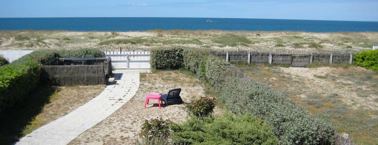 Villa accès direct plage - Bretagne - La Turballe - La Turballe - House