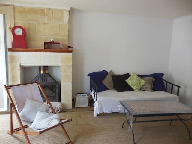 Agréable maison en pierres - Libourne - Haus