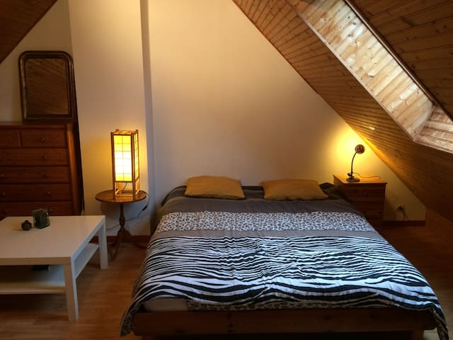 Saint-Briac-sur-mer : chambre double privée