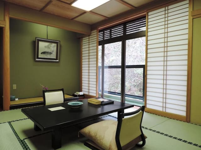 Best for sightseeing in 「Aizuwakamatsu」 ONSEN + TATAMI ROOM + YUKATA+Dinner and breakfast included【With meal】