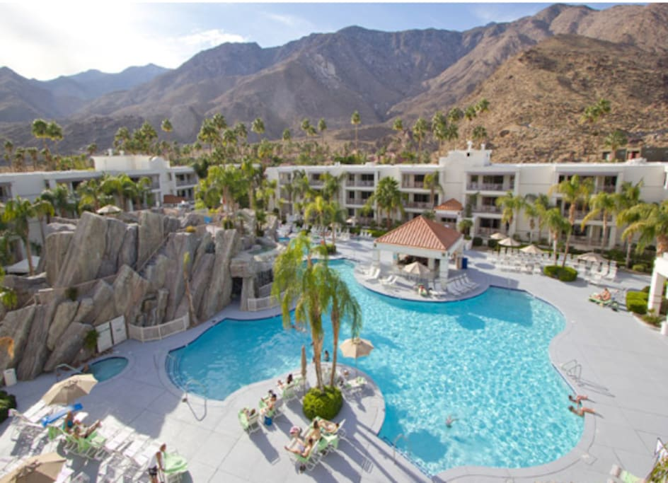 Palm canyon resort and spa apartments for rent in palm - Palm canyon resort 2 bedroom villa ...