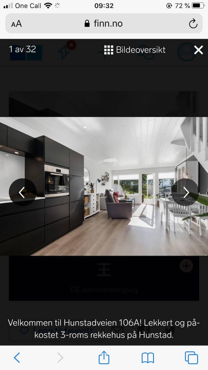 Nyoppusset leilighet, stille og rolige omgivelser