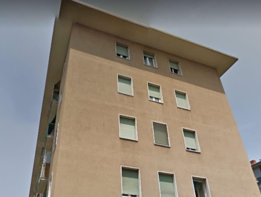Palazzo, facciata