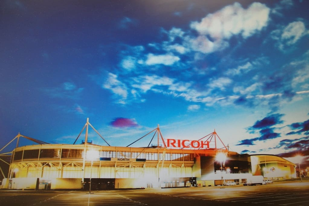 Near by Famous Ricoh Arena