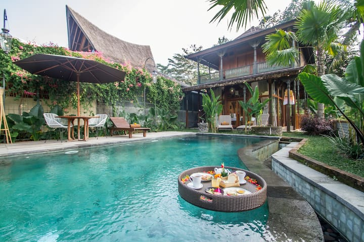 1BR# A Hidden Oasis with Stunning Views on Ubud