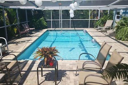 Private complete 2 BR In-Law suite with pool