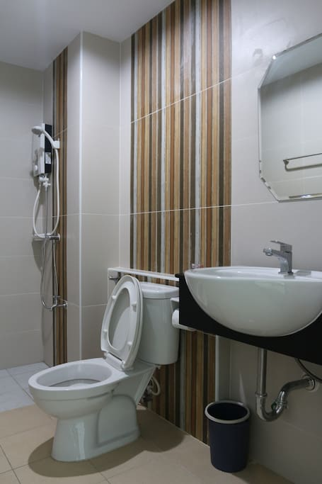 Bathroom with a Shower.