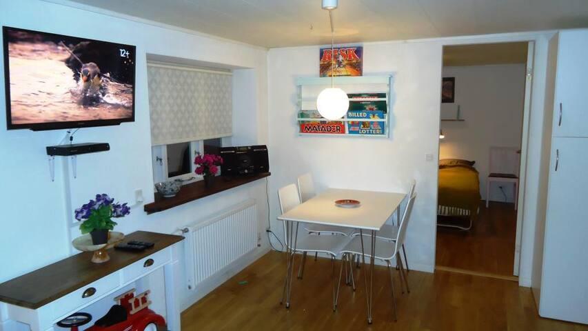 Quiet & Cosy 40 m2 Flat in Downtown Tórshavn