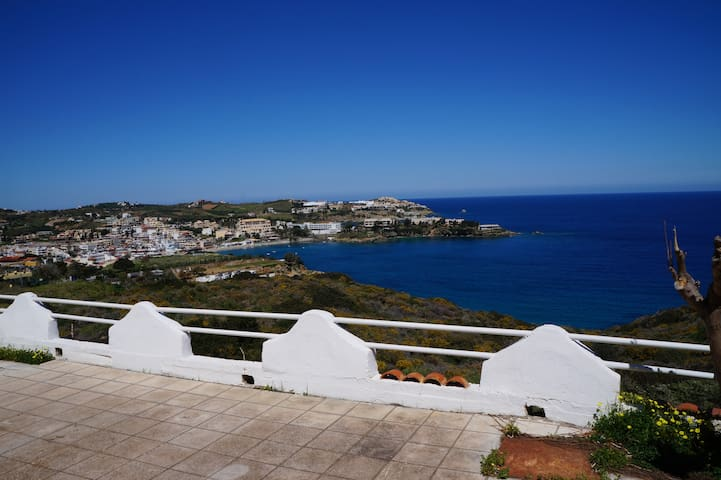 Appt with beautiful view near 2 beaches - Agia Pelagia - Apartmen