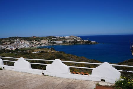 Appt with beautiful view near 2 beaches - Agia Pelagia - 公寓