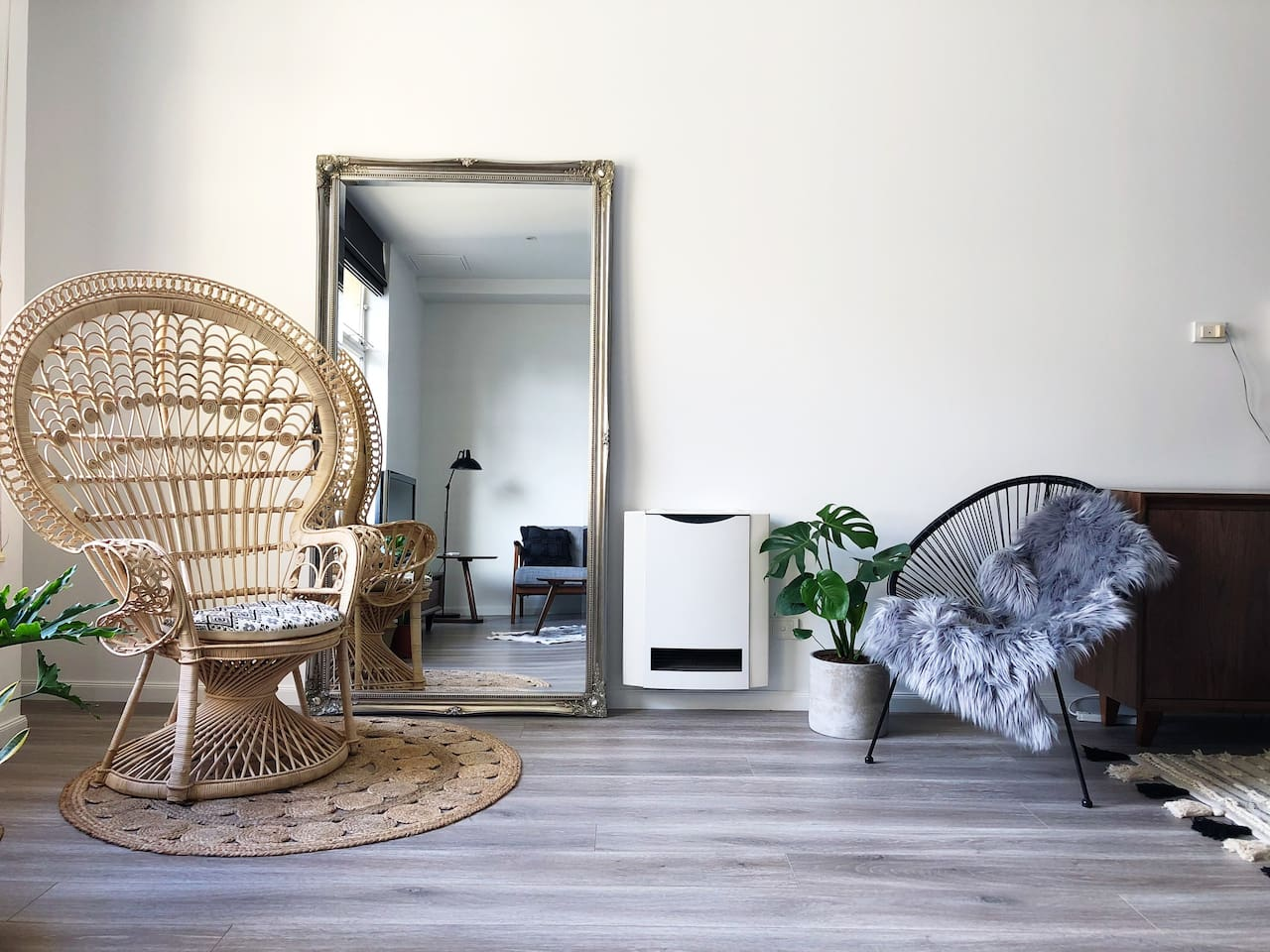Newly renovated, stylish interior with the best location!