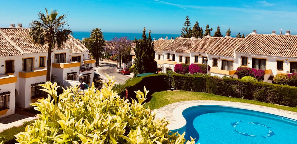 ❤☀️Casa Taz-Peaceful Garden Apartment w/ Sea View