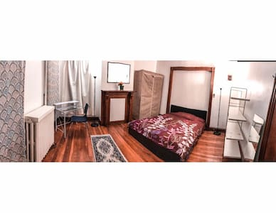 Spacious room close to NYC/Rutgers University - Нью-Брансуик