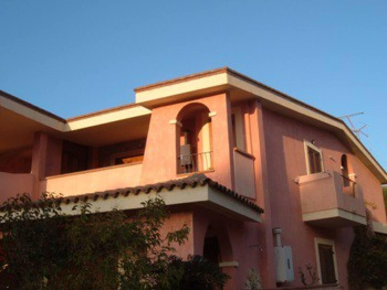 vista esterna della casa