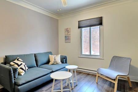 BEST DEAL, 2 Bedrooms, Near subway, Free parking! - Montréal - Apartment