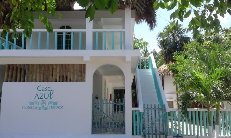 Casa Azul, hotelito Holbox 1st room - Holbox - Appartement