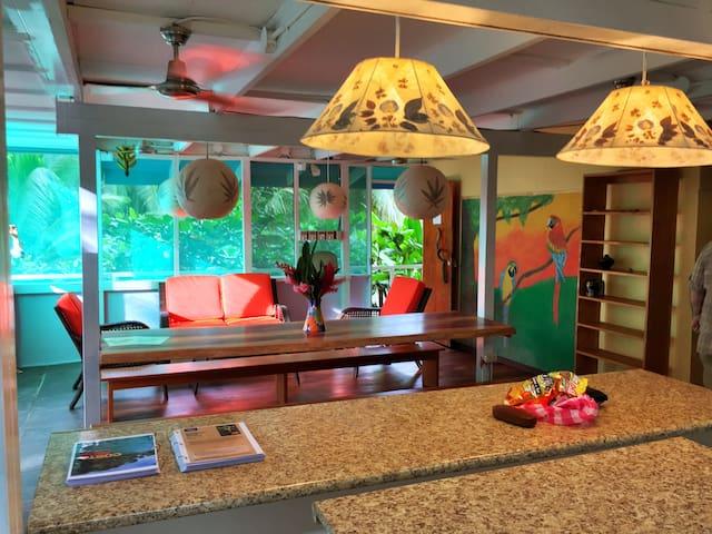 Beachfront Jungle Villa fits 16! - Puerto Viejo - Villa