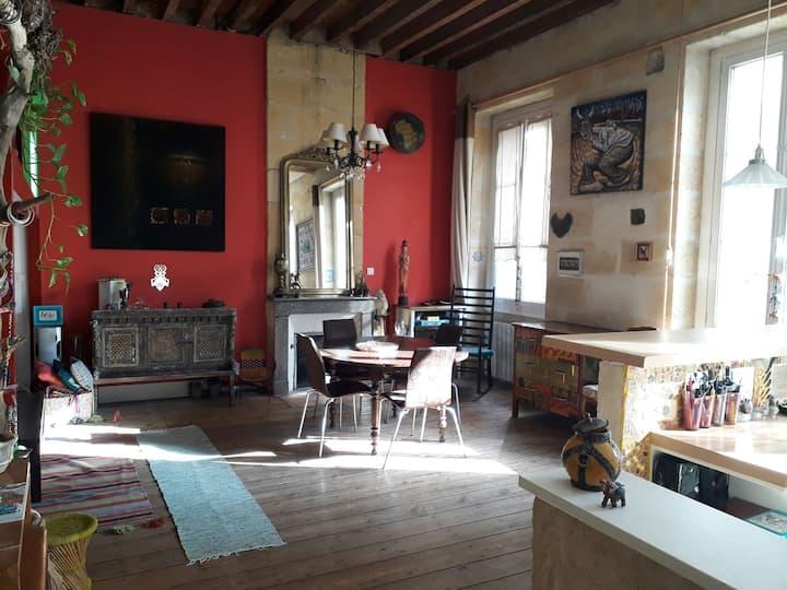 Grand appart duplex au cœur de Bordeaux Chartrons