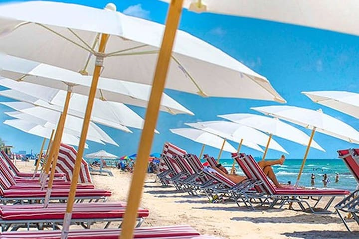 Relax w/ the beach & city view Pax 4/6 BW 1204 - Hallandale Beach - Kondominium