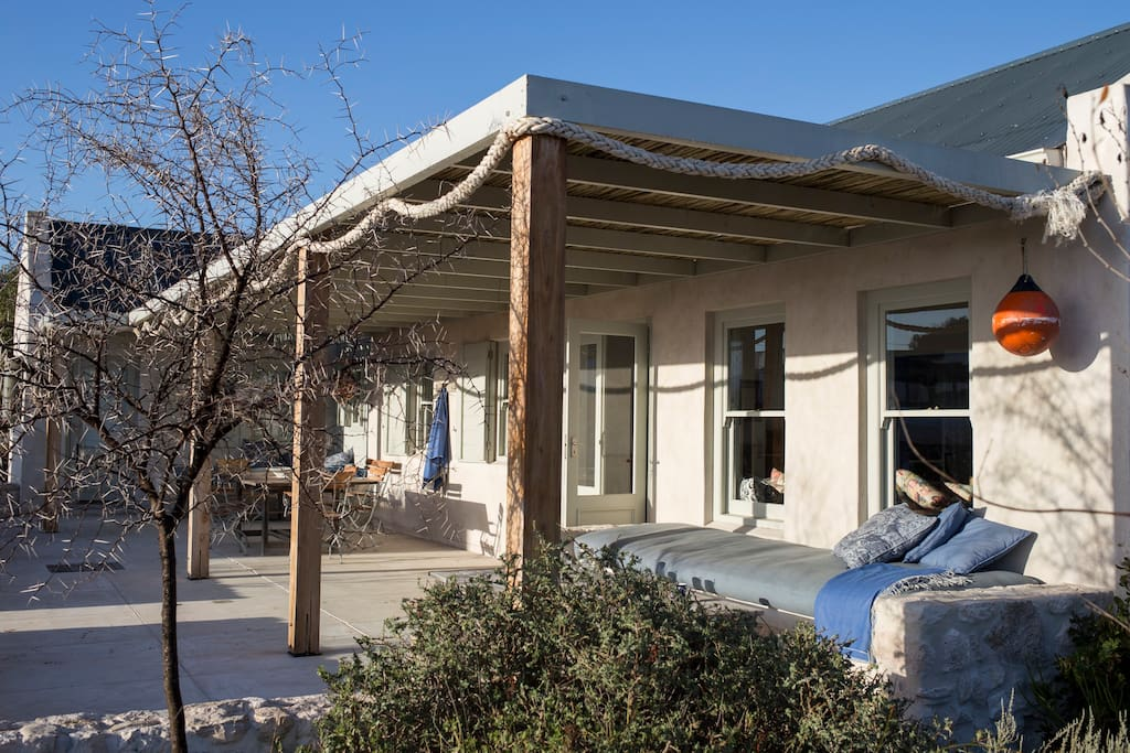 The front verandah: perfect for morning games of scrabble, long lazy lunches and a delicious afternoon nap.
