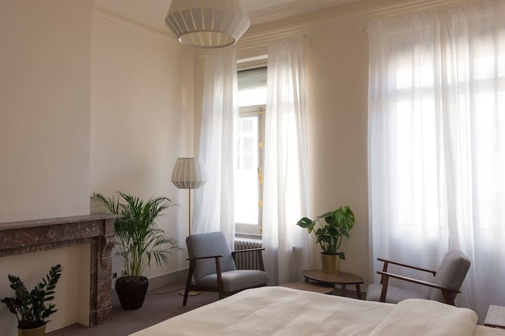 Cozy and bright room in Ixelles