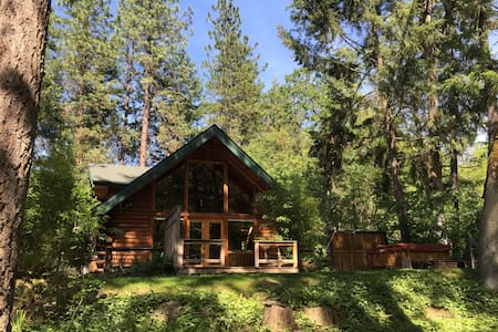 Thompson Creek Cabin with HOT TUB! Now with wifi! - Jacksonville - Chalet