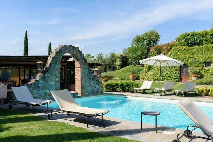 Villa with pool in Tuscany - Bettolle - Vila
