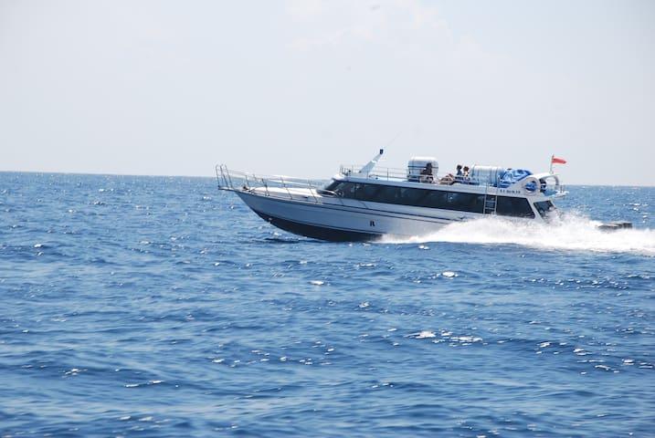 Speed boat from Bali to Gili Trawangan - Karangasem Regency - Boot