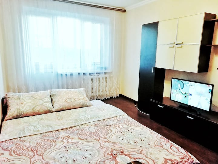 Уютная квартира рядом с Олимпийским