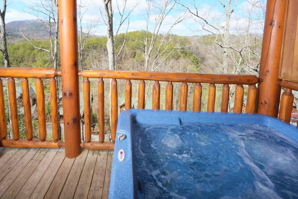 Wild Adventures-Hot Tub