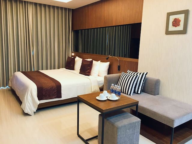 LUXURY Apart 1BR,great location to everywhere - Hồ Chí Minh - Leilighet