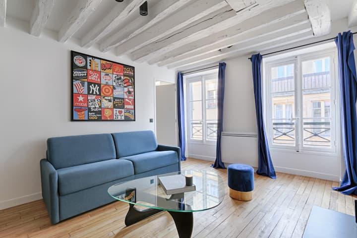 Fantastic Luxury Apartment 2BR/6P - Le MARAIS