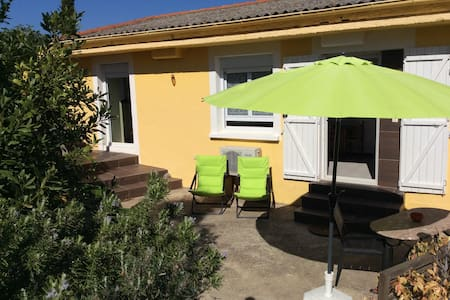 PORT VENDRES: maisonnette+terrasse+jardin+parking - Port-Vendres