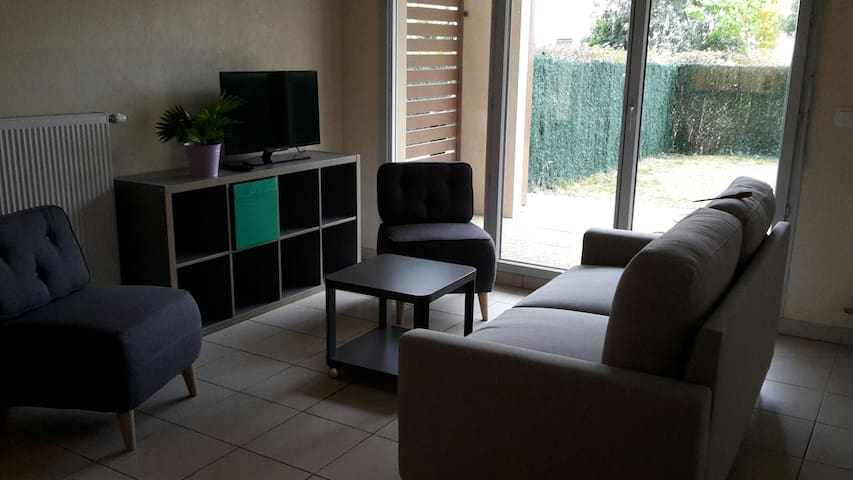 Duplex 3 bedrooms at 15mn to Lyon center