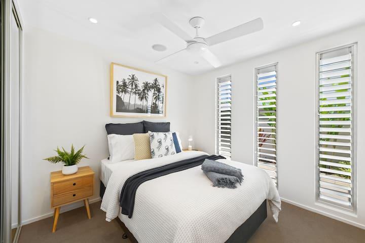 Bedroom two, Double bed and a guaranteed good nights sleep...