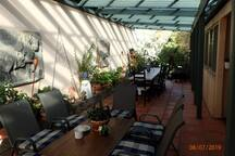 Shared outdoor area