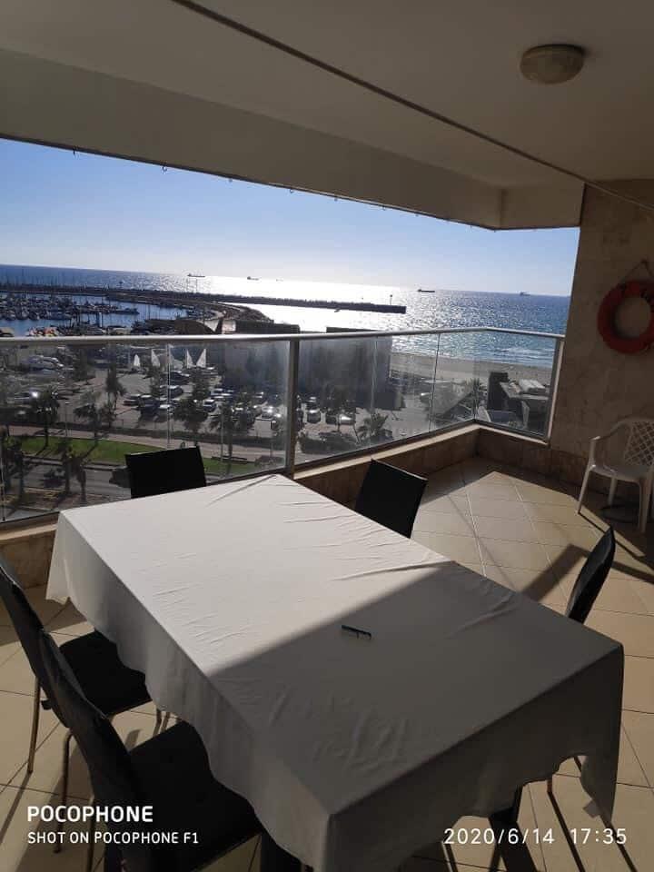 Appartement face à la mer Méditerranée