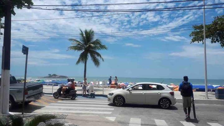 Aconchego, pra curtir suas férias no Guarujá.