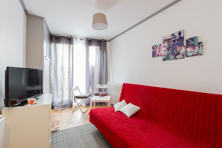 Beau studio à porte de saint cloud - Boulogne-Billancourt