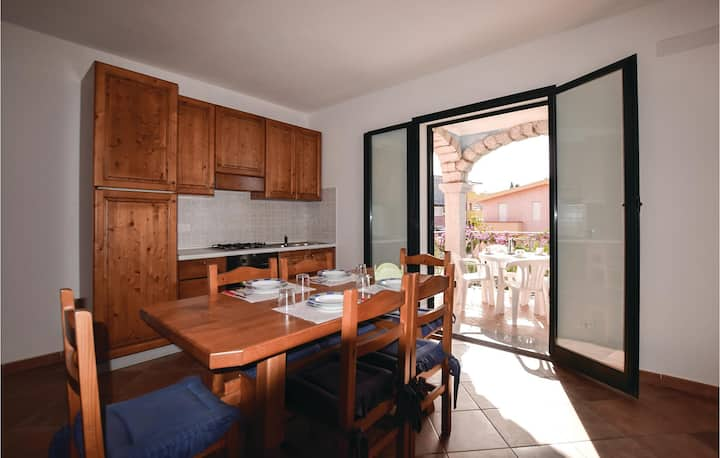 Nice home in Valledoria SS with 2 Bedrooms