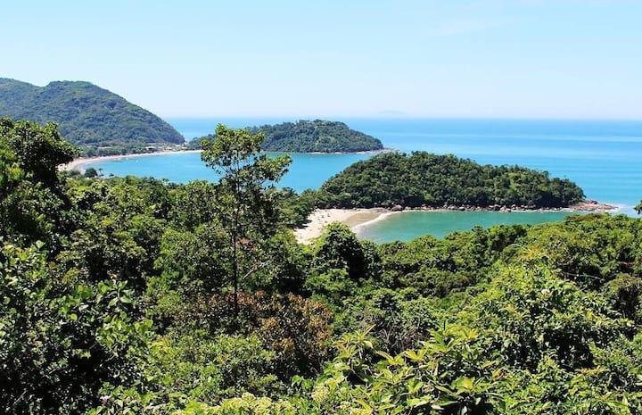 Casa Pedra Verde a 100 metros da areia! 2 praias!