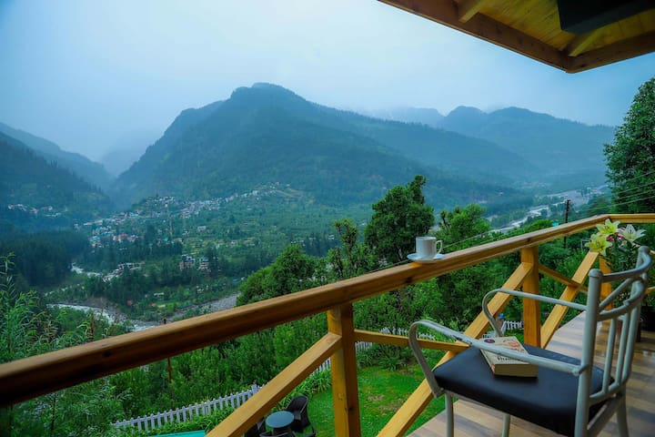 ♥4 BR+Close to Mall Road&Solang+BKFST@Manali♥