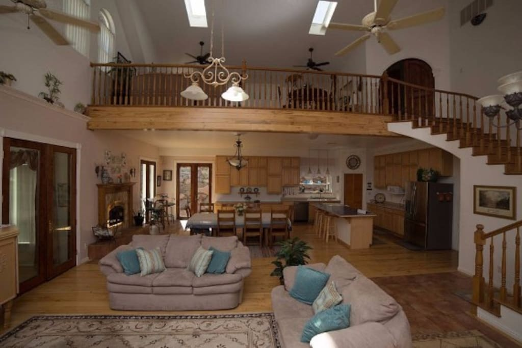 Great Room and Open Loft
