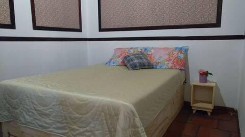 Confortavel Suite com vista para Cachoeira