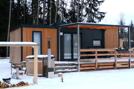 Mobile Home at the Murner Lake - Hot Tub included - Wackersdorf - Apartament