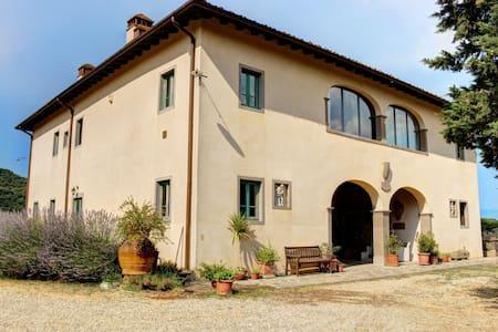 Amazing villa with pool in the heart of Tuscany - Figline e Incisa Valdarno - วิลล่า