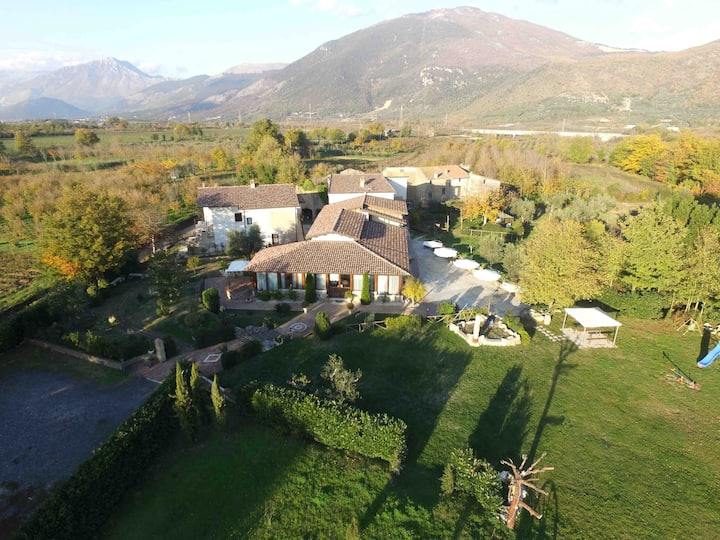 Suite in Agristor Country House Borgo Patierno