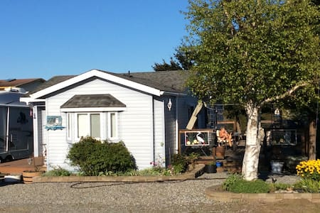 Attractive sea view cottage - Point Roberts - Kabin