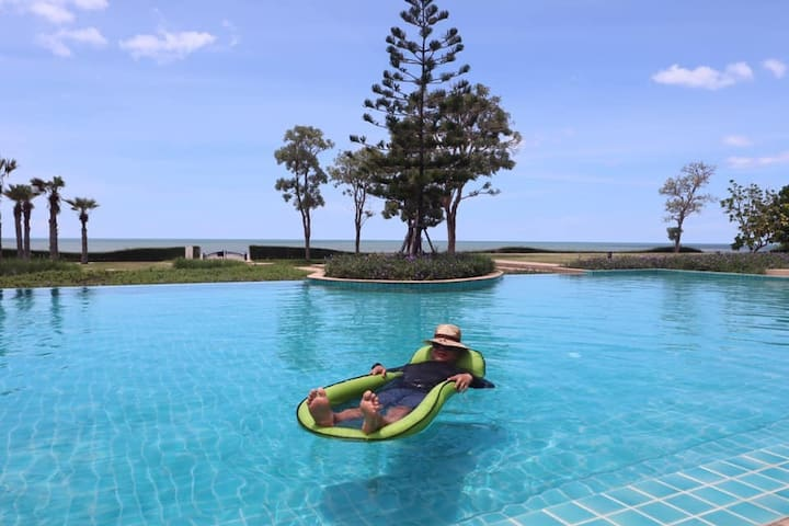 Munlihouse9 ChaAm HuaHin by sea with private beach