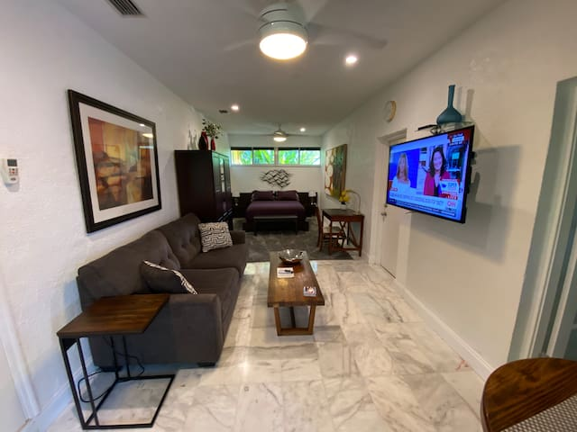 Miami Tropical Garden Suite, Private, Not Shared